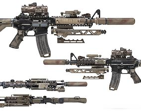 us marines infantry rifle 3D