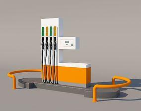 pompa Fuel dispenser 3D model