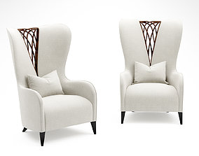 Christopher Guy LACEMAKER armchair 3D model