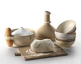 Dough Cooking Setup 3D