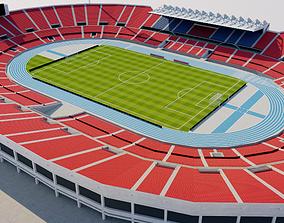 Estadio Nacional de Chile 3D model