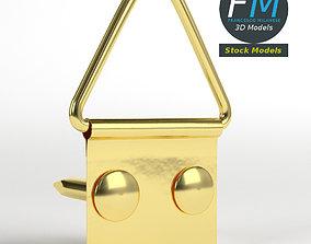 Picture frame hanger kit 3D