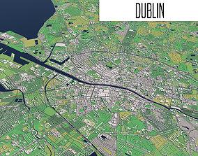 3D Dublin highland