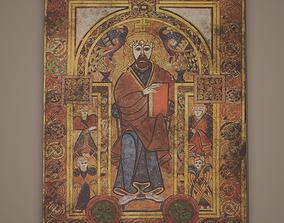 Medieval Designed Painting 3D model