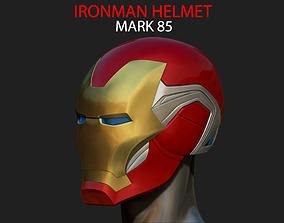 IRONMAN HELMET - MARK 85 version - from 3D print model 5