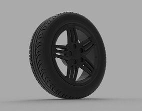 3D printable model Volkswagen Scirocco R
