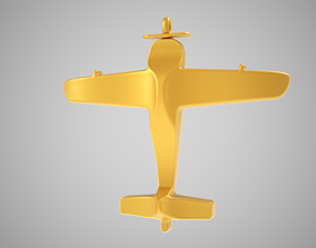 3D print model Plane Necklace