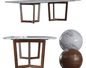 3D Poltrona Frau - Bolero Ravel Table
