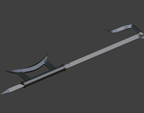 3D print model Kabal Weapon sword Blades of Vengeance 4