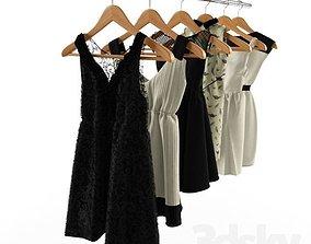 3D Zara Dresses