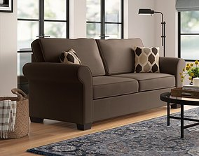 3D model Marcellus Chenille Sofa Bed with Reversible