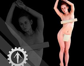 Female Scan - Helga 013 High Poly 3D asset