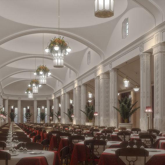 Dining room,