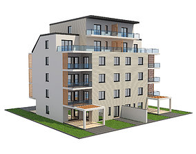 Residential Building 1 3D