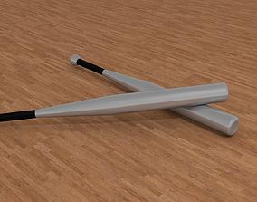 3D Aluminium baseball bat