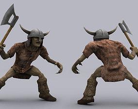 3D asset KOBOLD GAME READY ANIMATED MODEL