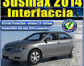3dsmax 2014 vol 2 Interfaccia Italiano cd front
