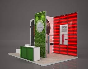 various-models Exhibition stand octanorm maxima 6x4 m 3D