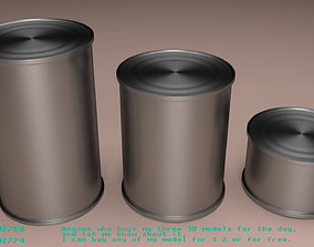 Tin Can can 3D