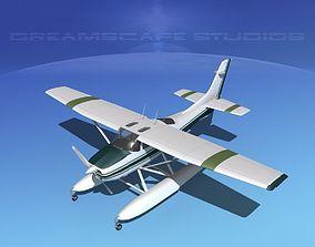 Cessna 182 Skylane Seaplane V03 3D