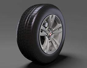 3D Fiat Qubo wheel 2017