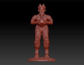 stayer man figure sculpture 3D print model