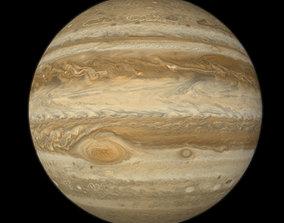 Low Poly Jupiter 3D asset