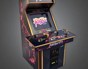 3D asset Arcade Cabinet 02 - RAC- PBR Game Ready