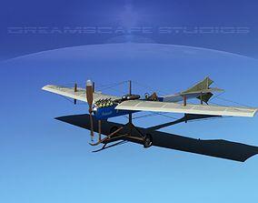 3D Antoinette Monoplane V03