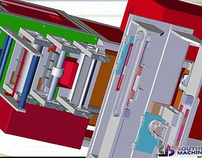 How KN95 mask automatic production line for fighting 3D