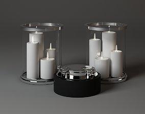 Eichholtz Accesories Ashtray Diametr 26cm SvechaColba 3D