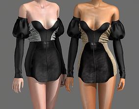 3D model Night Gown V2