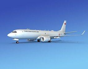 Boeing P-8 Poseidon Turkish Air Force 3D model