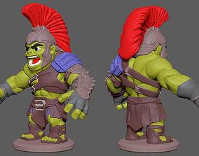 toys Hulk Chibi 3D printable model