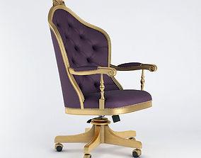 Seven Sedie Vera Swivel Chair 0360P 3D