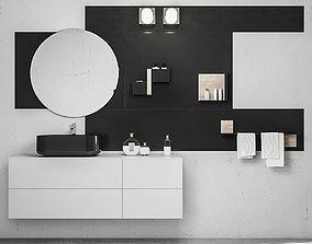 Bathroom furniture set Arcom Magnetica 3D
