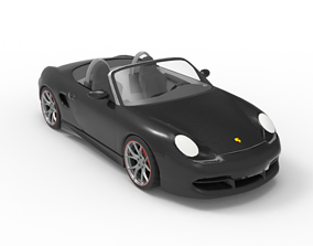 2003 Porsche Boxster 3D