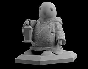 FF7 Remake Tonberry Final Fantasy Statue Sculpt 3D Print