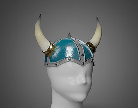 Viking Helmet - Low Poly model low-poly