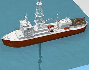 3D Lower marine riser package cap