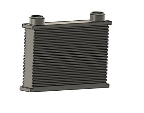 3D printable model 1 10 scale oil cooler accessory