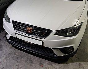 Seat Cupra Flag - Front Grill Badge 3D printable model