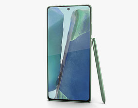 Samsung Galaxy Note20 Mystic Green 3D model