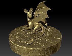 creature Dragon Sculpt 3D print model
