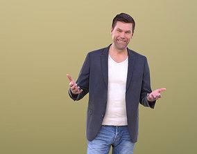 3D asset game-ready Lars 10407 - Talking Business Man