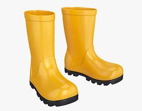 autumn 3D Rubber boots