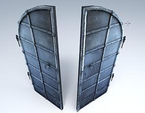 3D asset Basement Door