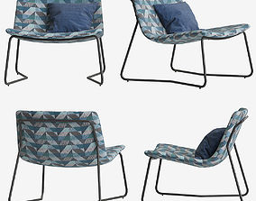 Armchair Made Lucierne 3D model