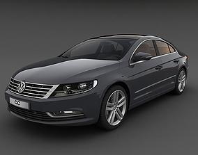 3D model Volkswagen CC 2013