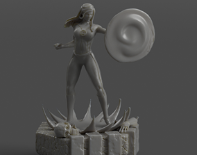 3D printable model Fantastic 4 Invisible Woman Sue by 2